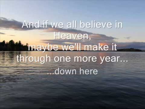 View From Heaven- Yellow Card (w/ lyrics)