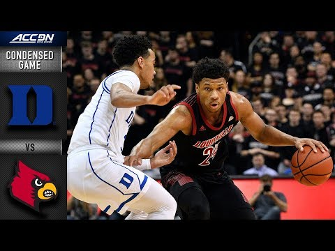 Duke vs. Louisville Condensed Game | 2018-19 ACC Basketball