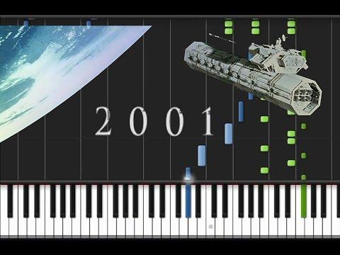Richard Strauss - Also Sprach Zarathustra [Piano Cover Tutorial] (♫)