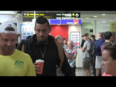 'NICK KYRGIOS TOUCHES DOWN IN MELBOURNE UNAWARE of SHANE WARNE'S OFFER' #Exclusive