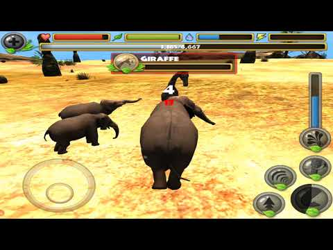 Elephant Family Simulator 3D, By Gluten Free Games