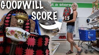 I was NEVER Going Back to this Goodwill, But then I Found This | Thrift with Us | Reselling