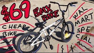 $69 WalMart BMX Bike Review - Kent Ambush
