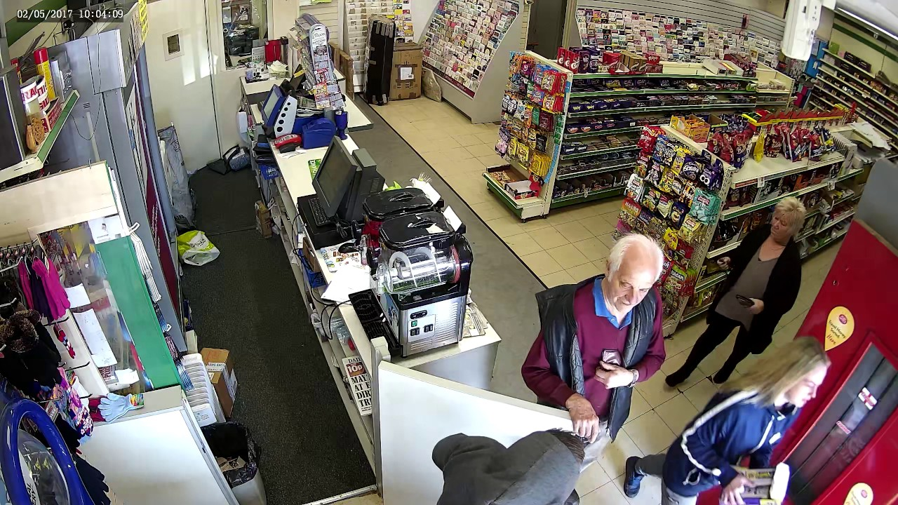 failed armed robbery ecton brook post office cctv footage 1 youtube. Black Bedroom Furniture Sets. Home Design Ideas