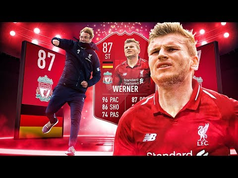 THE LIVERPOOL TIMO WERNER! THE BEST LIVERPOOL TRANSFER SQUAD! FIFA 19 ULTIMATE TEAM thumbnail
