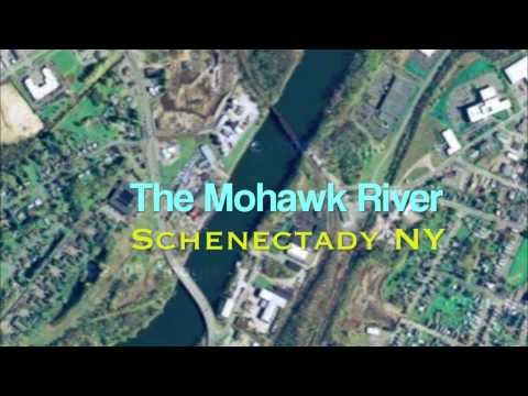 Schenectady NY - Mohawk River -Rexford Bridge -Erie Canal