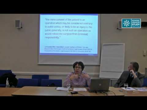 Dean's Seminar: Controversial Medical Procedures and the Criminal Law