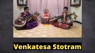 Venkatesa Stotram on the Saraswathi Veena