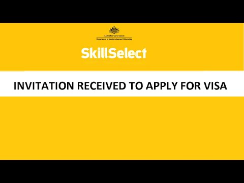 SkillSelect Invitation to Apply for Skill Independent Visa 189 | Australian Immigration