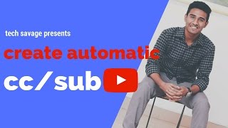 Add subtitles to youtube videos automatically | YT tips