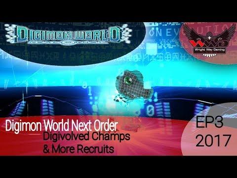 Digimon World Next Order - EP3 Champion Digimon & More Town Recruits
