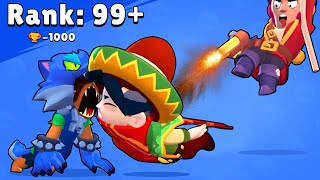 QuickDraw Edgar and 101 Funny Situations in Brawl Stars