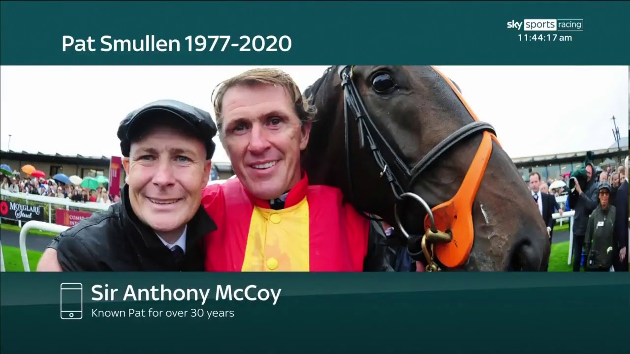 """I spent a long time crying last night"" - Sir AP McCoy's very emotional Pat Smullen tribute"