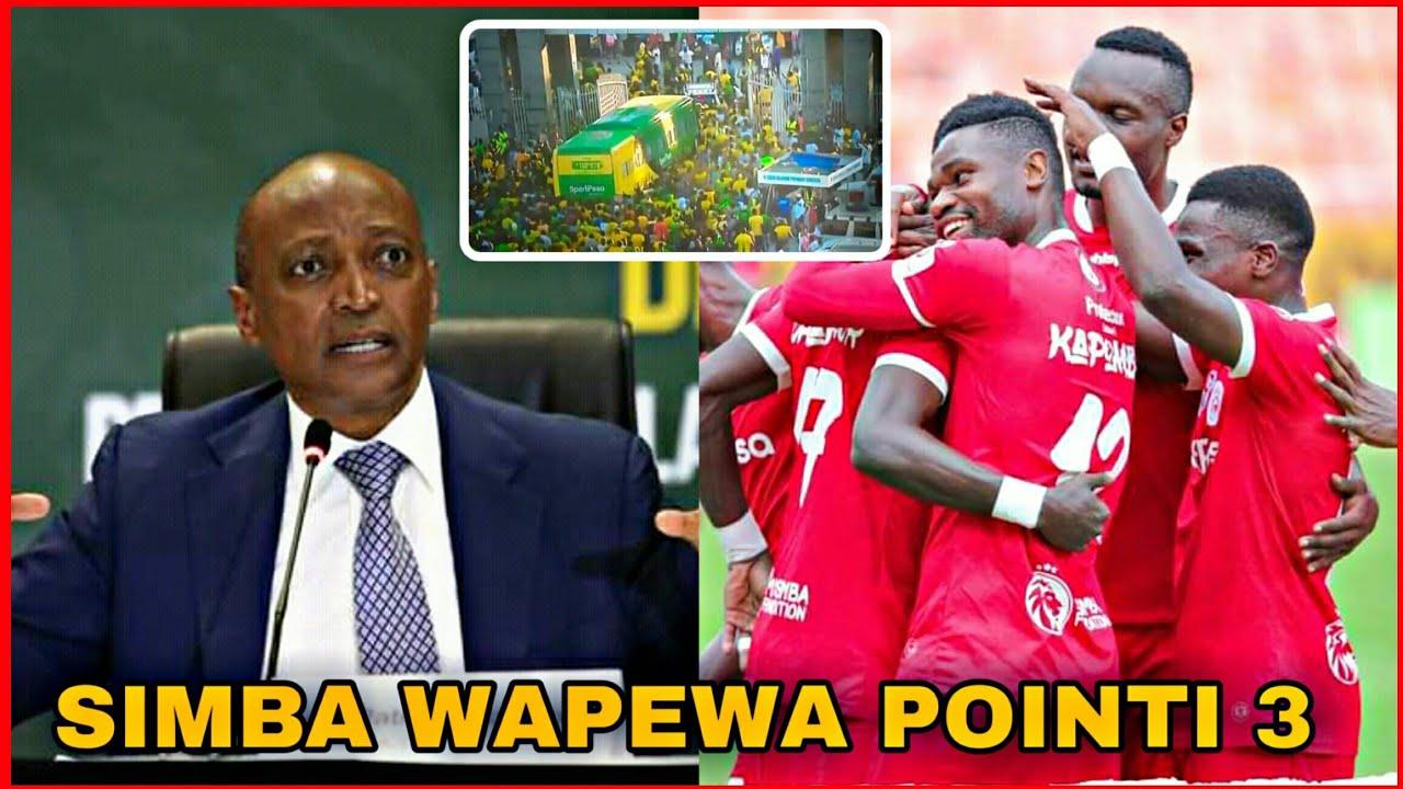 Caf Watoa Tamko Zito Kwa Tff Simba Wapewe Point 3 ,Viingilio Vya Mashabiki, Yanga Kulipa Fidia