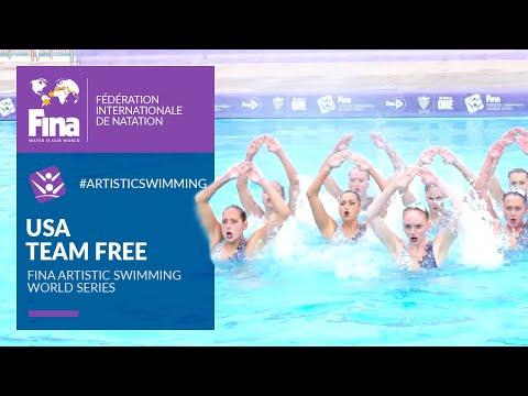 USA 🇺🇸 Tremendous Team Free Routine | FINA Artistic Swimming World Series 2021