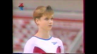 Svetlana KHORKINA (RUS) UB - 1996 France CIS display