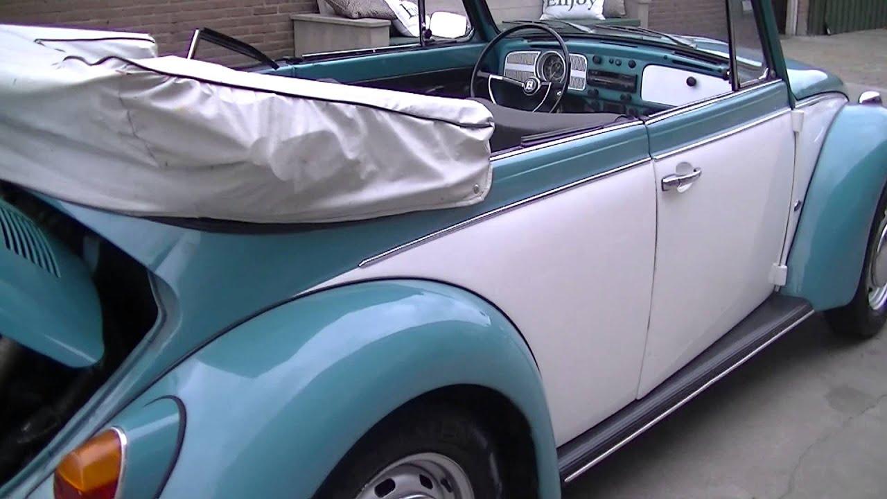 Volkswagen Beetle Cabriolet 1302LS 1970 -VIDEO- www.ERclassics.com - YouTube