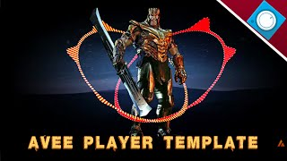 donwload template avee player - free