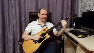 Незрячий музыкант Сергей Спиридонов из Перми преподаёт вокал, гитару и пишет песни
