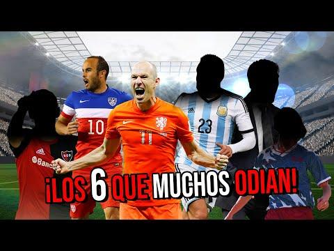 Los 6 Futbolistas MENOS QUERIDOS Por Los Aficionados Mexicanos