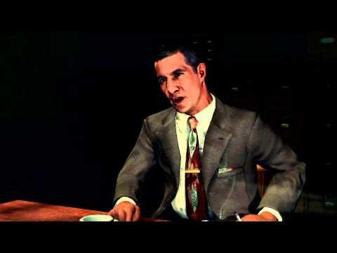 LA Noire Interrogation Gameplay