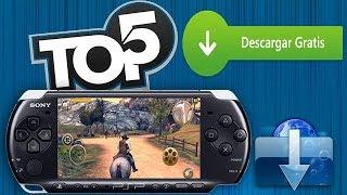 TOP 5 - JUEGOS PARA PSP POCO CONOCIDOS│[ + LINKS] Los Mejores Juegos Para PSP