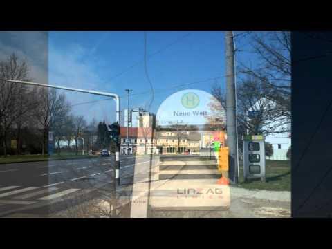 BIldimpressionen Linz Haltestelle Neue Welt