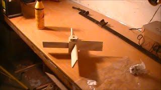 Making a wooden propeller