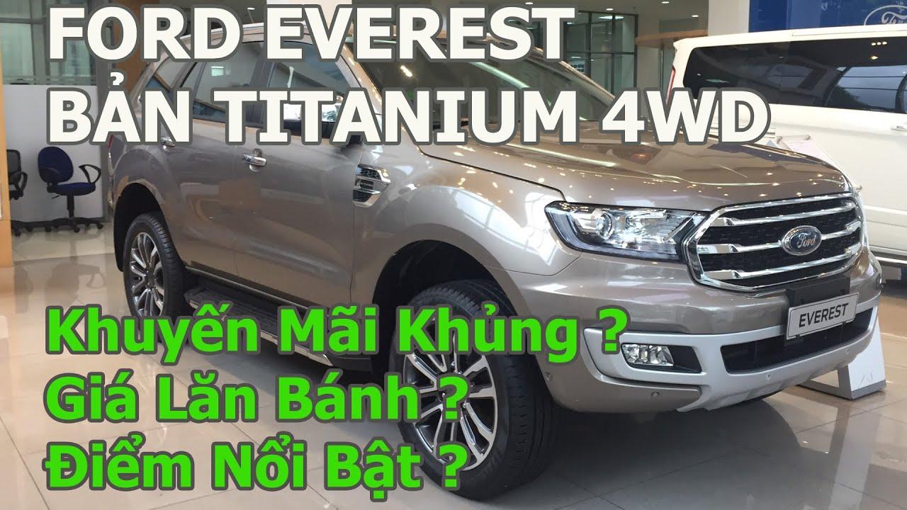 Ford Everest 2019 Titanium 4WD | Khuyến Mãi Khủng ? | Giá Lăn Bánh ? | Điểm Nổi Bật ?| 0795333355