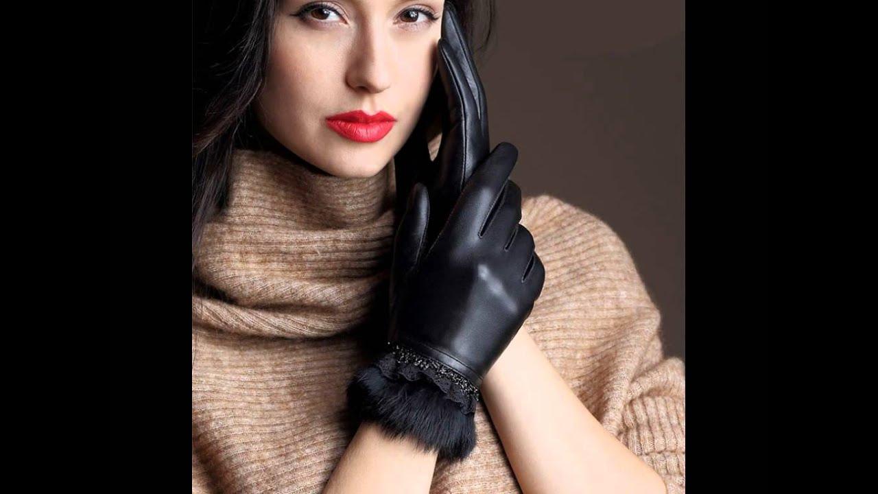 Ladies erotic leather gloves excellent porn