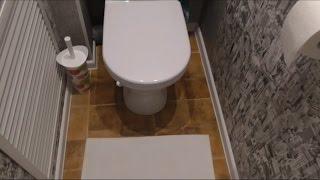 Самый бюджетный. но красивый ремонт туалета!