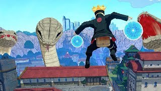 Naruto to Boruto Shinobi Striker - Boruto Uzumaki Boss Battle Gameplay (PC)