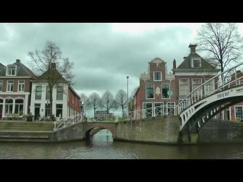 NETHERLANDS Dokkum, Friesland (hd-video)