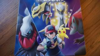 Review #47-Pokemon Diamond & Pearl Movie Collection Blu-ray Steelbook