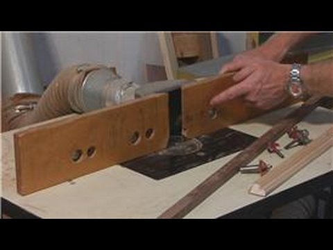 Woodworking : How to Use a Wood Shaper