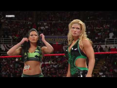 Download WWE RAW 12/05/2008 │Mickie James & Maria vs Beth Phoenix & Melina