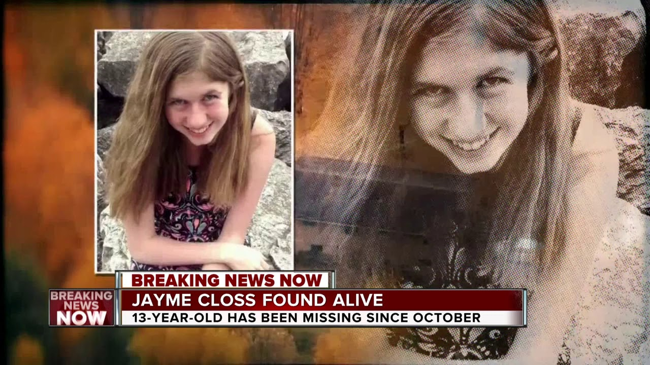 Jayme Closs found alive and safe #1