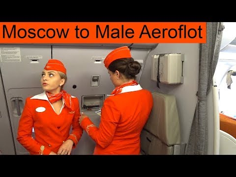 Moscow To Male Aeroflot Flight SU 320 #Sheremetyevo