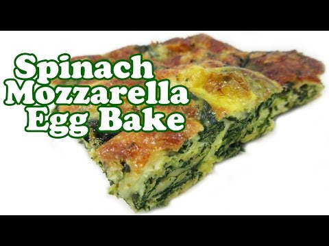 Breakfast Casserole Recipes Egg Bake Recipe Eggs Spinach Mozzarella Cheese Casseroles Jazevox
