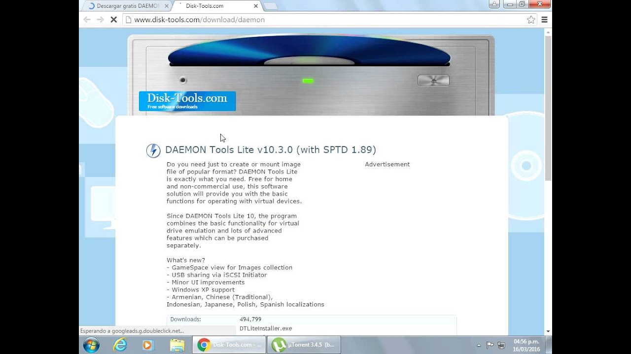 Video De Como Descargar Daemon Tools Lite Pro V With Sptd 1 89