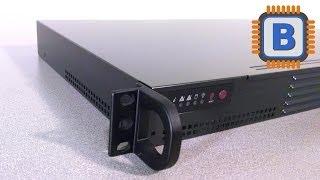 Supermicro CSE-504-203B Server Case Review - 1U Rackmount