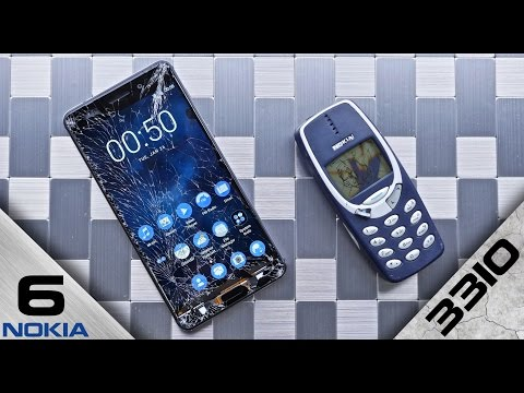 Nokia 6 vs Nokia 3310 DROP Test! A New Legend?