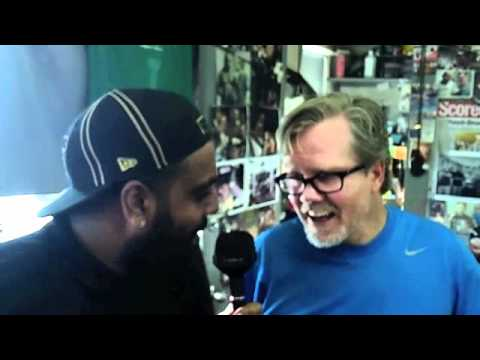 FREDDIE ROACH INTERVIEW FOR iFILM LONDON AT THE WILD CARD BOXING GYM.
