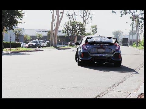 Seibon Carbon Car Meet -  2017 Civic Type R, Loud!