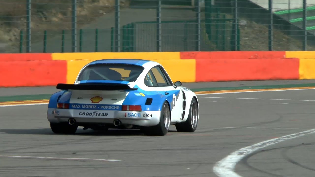 Porsche 911 carrera flat 6 racecar sound