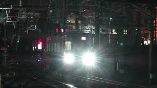 舞木出場回送!名鉄3150系 3163F (検査明け編成) 金山入線