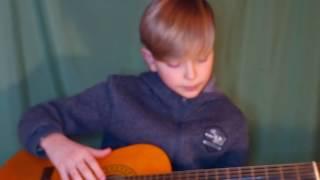 Разбор песни северный ветер на гитаре