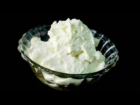 Homemade Fresh Cream - How to make Fresh Cream from milk