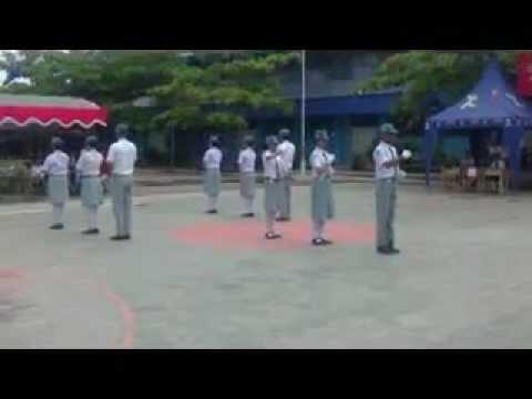 Lomba PBB PASKIBRA SMKN 1 BANJARMASIN di SMAN 6 Banjarmasin