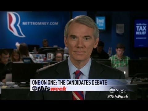Sen. Rob Portman 'This Week' Interview: Mitt Romney Prepares For 2nd Debate Vs. President Obama
